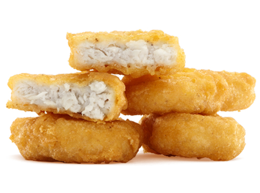 stem cells chicken nuggets