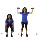 Exercise of the Week – Squat to Shoulder Press
