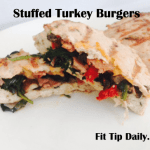 Low Carb Monday – Amazing Stuffed Turkey Burgers