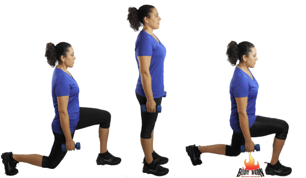 Exercise of the Week Front Back Lunge For Awesome