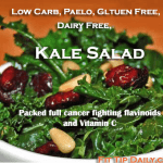 Low Carb Recipe Monday – Paleo Kale Salad