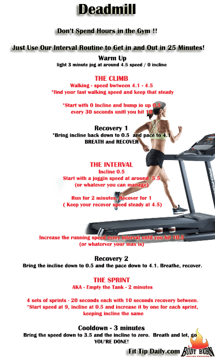 treadmill workout