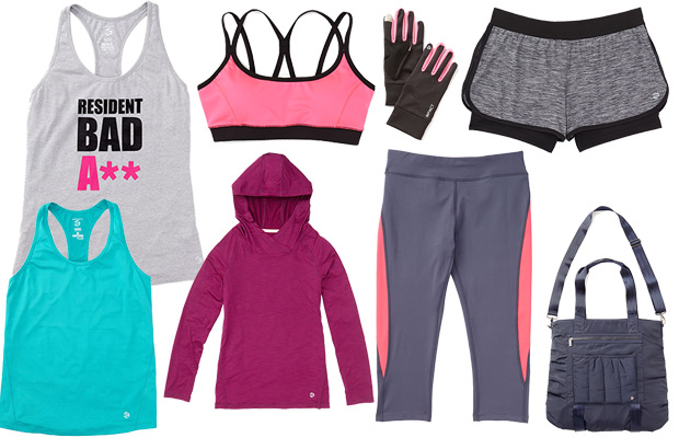 jillian michaels IMPACT clothing line
