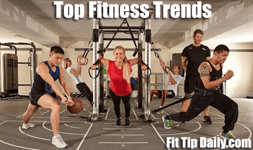 top fitness trends