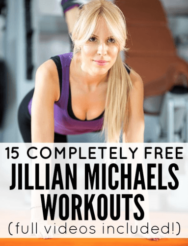 free jillian michaels workout video