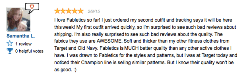 reviews for Fabletics