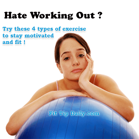 exercise for people who hate to workout