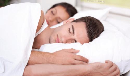 fit people sleeping