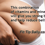 This Combination of  Calcium and Vitamins Will  Give You Strong Bones and Blast Belly Fat