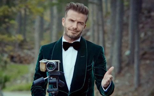 How does David Beckham stay young