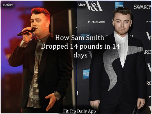 sam smith weight loss