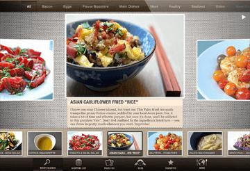 Paleo food apps