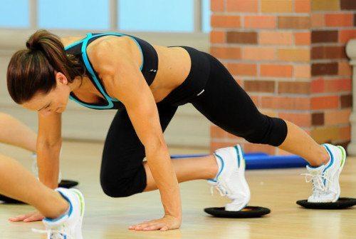 exercise sliders
