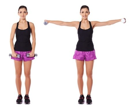 shoulder side raises