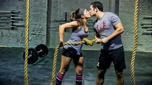 working out with your partner