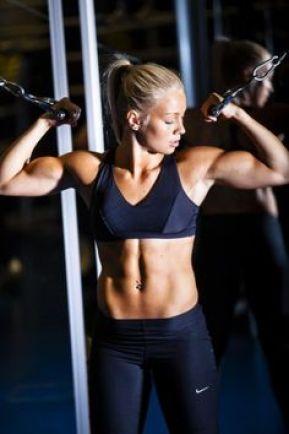 women biceps