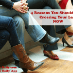 4 Reasons to Stop Crossing Your Legs NOW
