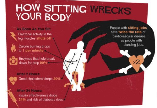 stretches to reverse the effects of sitting