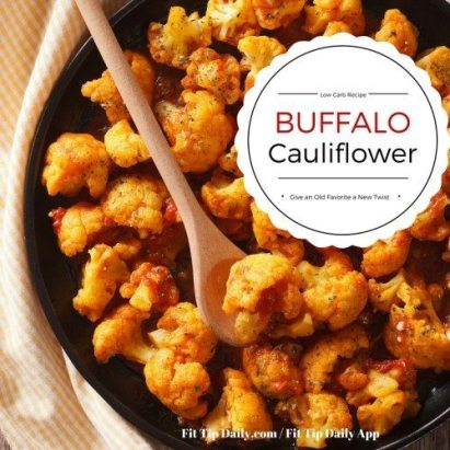 recipe for buffalo cauliflower