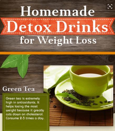 detox drink recipes