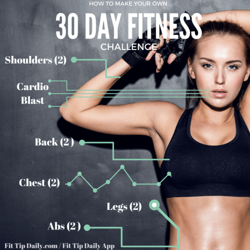 how to make your own 30 day fitness challenge