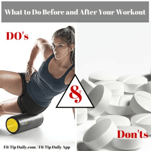 workout do's and don'ts
