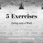 5 Wall Exercises You Can Do Anywhere