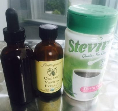 how to make your own liquid stevia