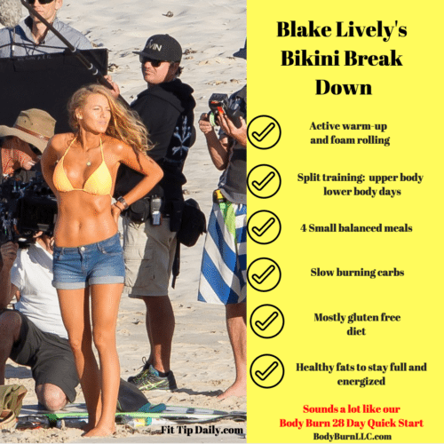 blake lively's workout