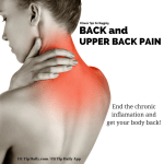 Fitness Tip For Nagging Back and Neck Pain