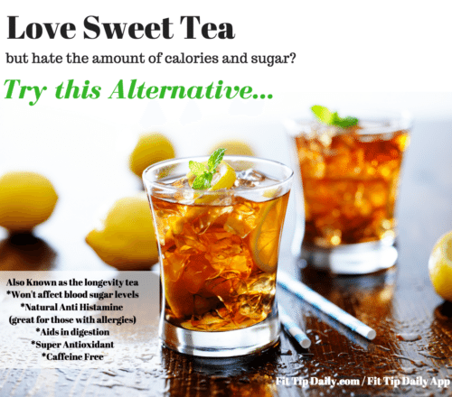 recipes for sweet tea no calories