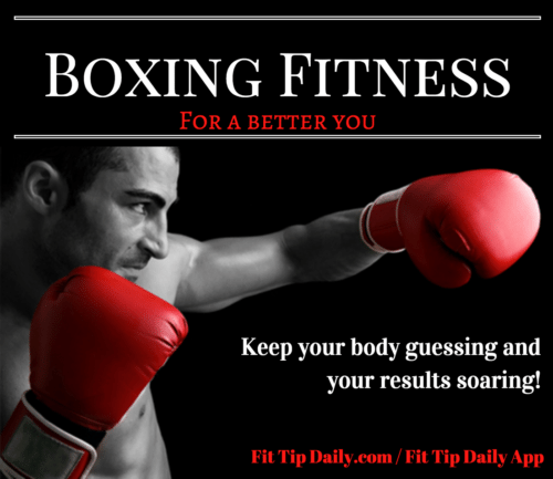 boxing fitness workout routine