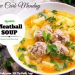 Low Carb Monday – Vegetable Meatball Soup
