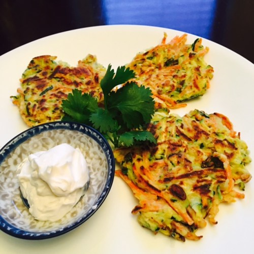 low carb vegetable fritters