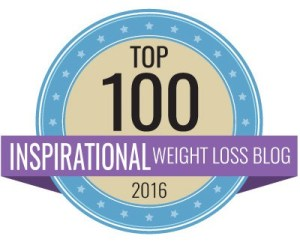 top 100 inspirational weight loss blog award