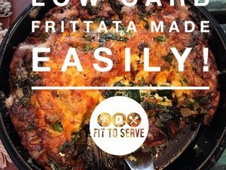 Easy low carb frittata