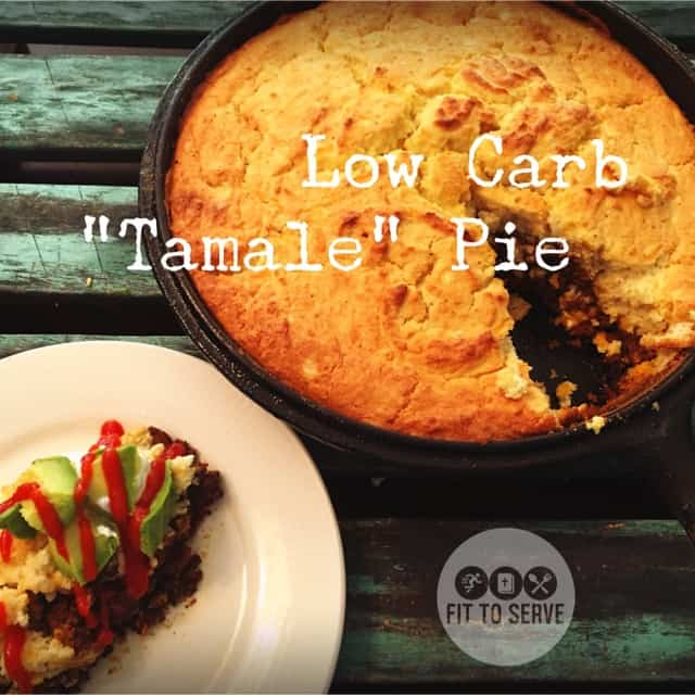 tex mex low carb tamale pie
