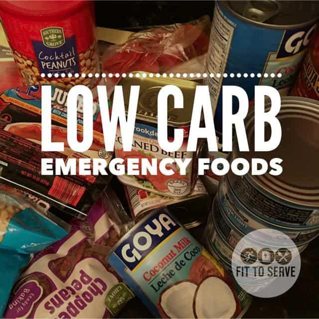 Low Carb Emergency Foods