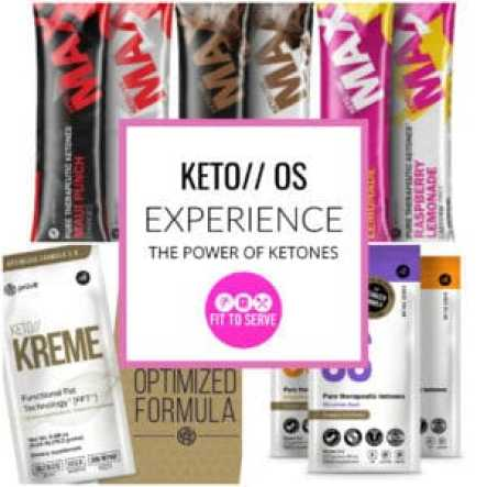 Experience the power of ketones with keto//OS the first exogenous ketone supplement to come to market