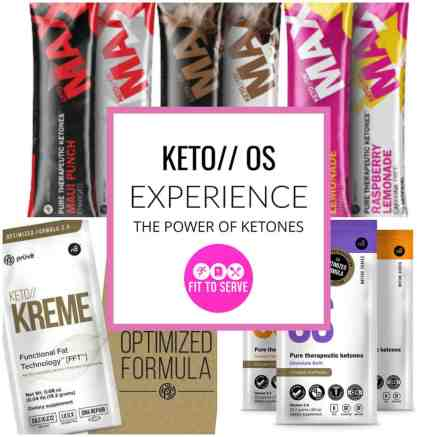 Experience the power of ketones with keto//OS