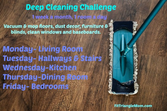 deep cleaning challenge