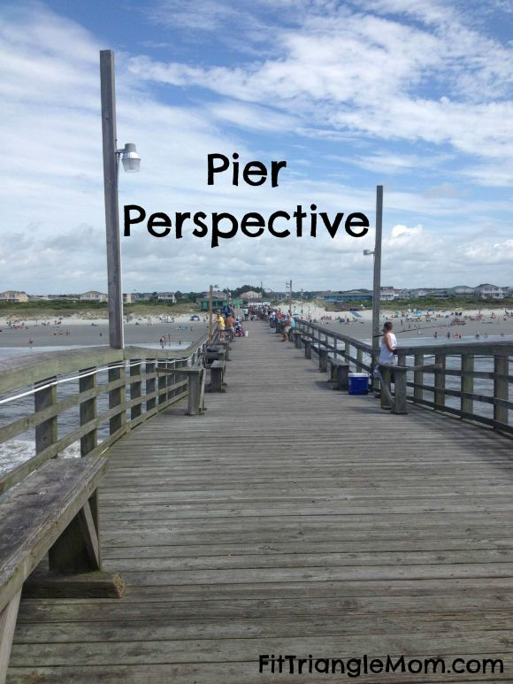 Pier Perspective family adventures at Sunset Beach, NC FitTriangleMom.com