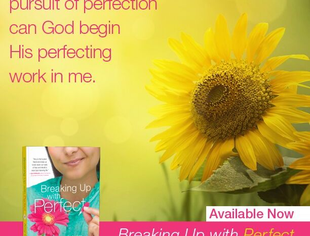 Breaking Up With Perfect book review, FitTriangleMom.com