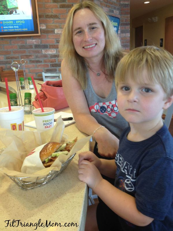 PDQ, Cali Club review, FitTriangleMom.com