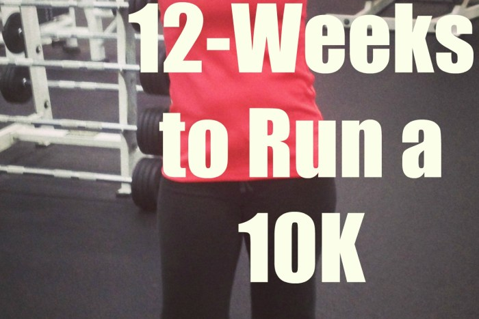 a personalized training program to run a 10k in 12 weeks. Nutrition, sleep, training and running app.