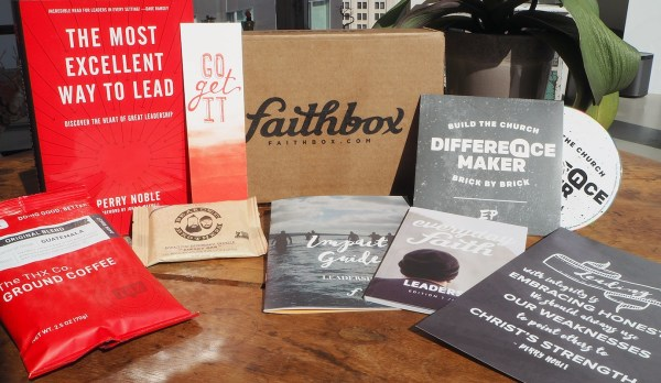 FaithBox - subscription box filled with Christian encouragement- Devotions, books, coffee.