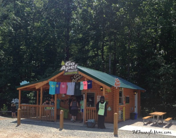 Go Ape Adventures in Raleigh, NC has a junior course designed for kids.