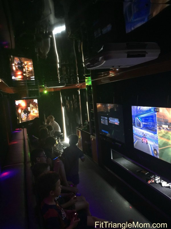 Gaming Unplugged NC is the ultimate video game truck perfect for birthdays and other special events for kids of all ages.