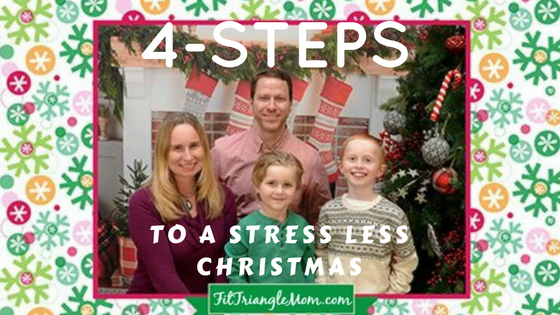 4 steps to a Stress Less Christmas. Pictures for Presents with Portrait Innovations studios.