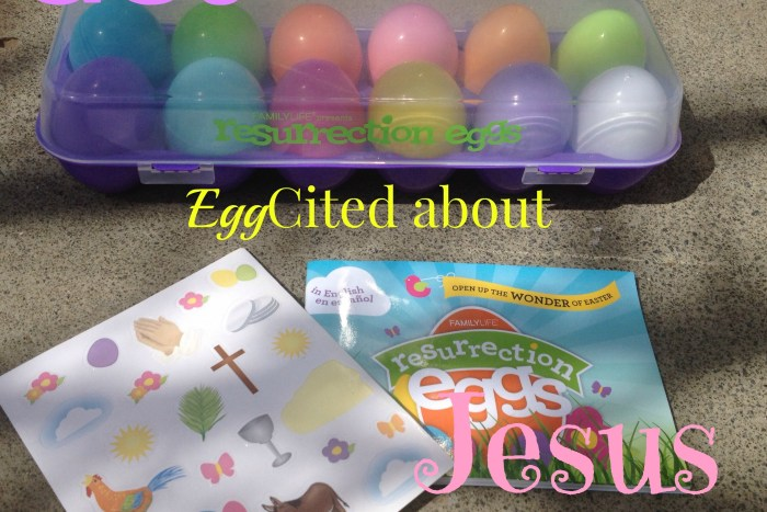Get Egg cited about Jesus with Resurrection Eggs kit. A teaching tool for the Easter journey.